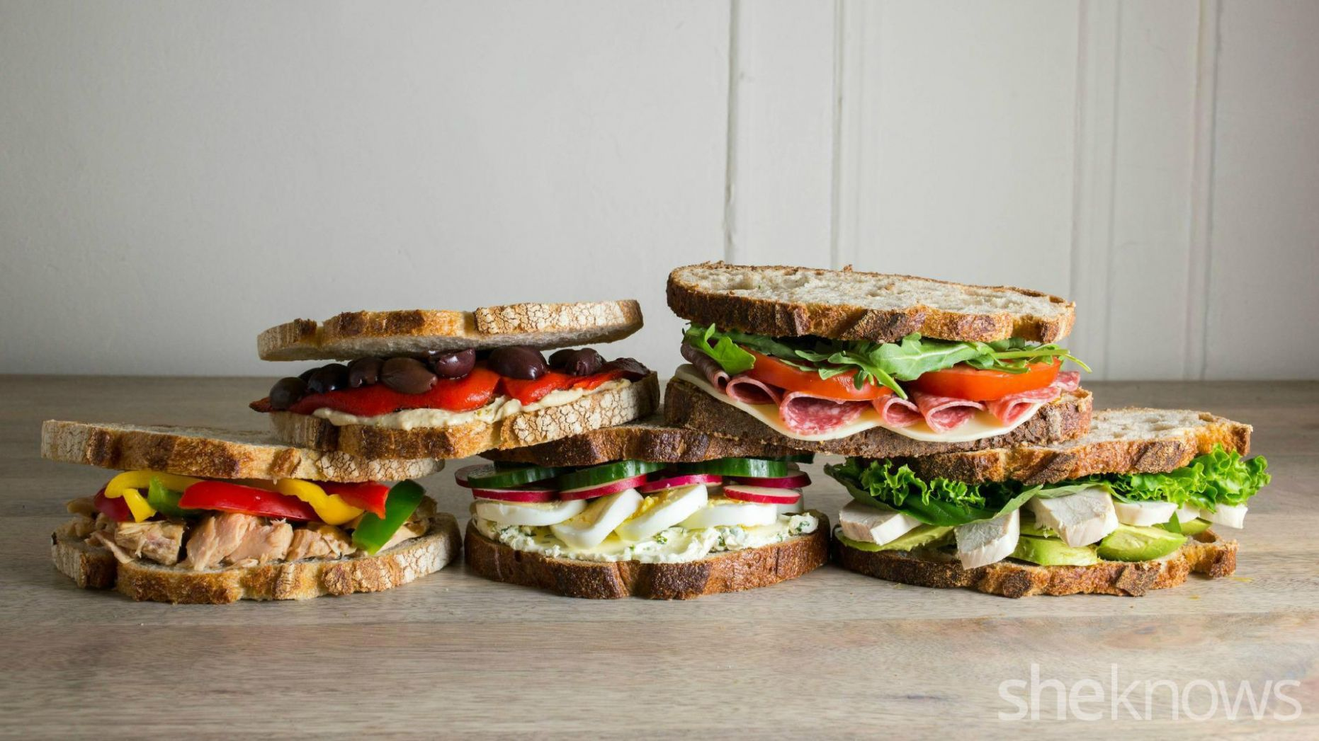 9 Gourmet work lunch sandwiches you can make in 9 minutes or less ...
