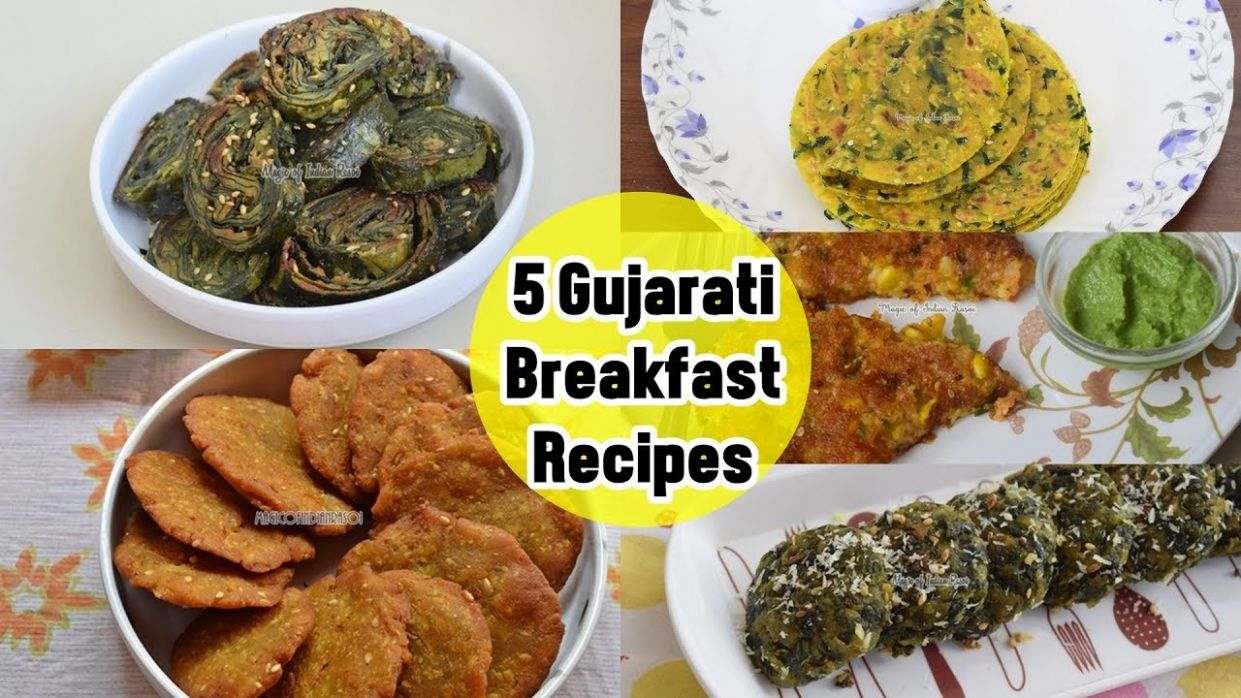 9 Gujarati Breakfast Recipes - ५ गुजराती नाश्ते की रेसिपी - Priya R - Magic  of Indian Rasoi - Gujarati Food Recipes Youtube