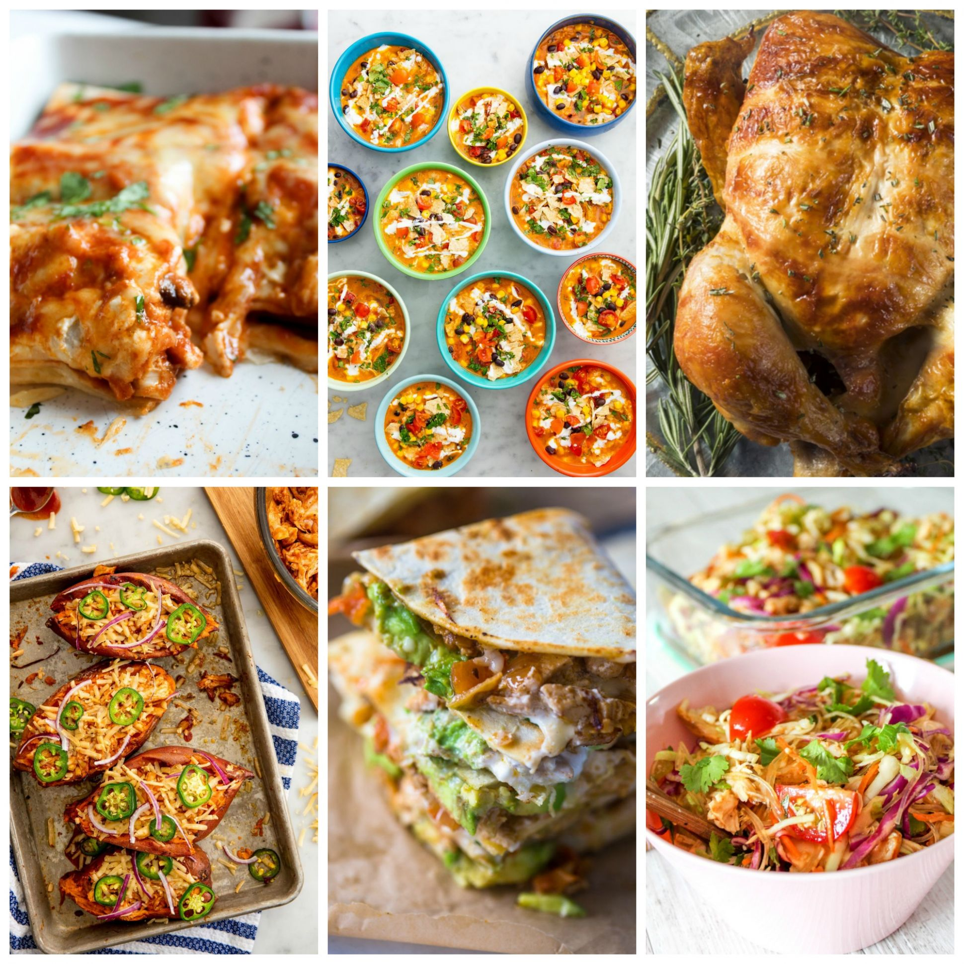 9 Healthy Meals to Make using a Rotisserie Chicken - Clean Eating ...