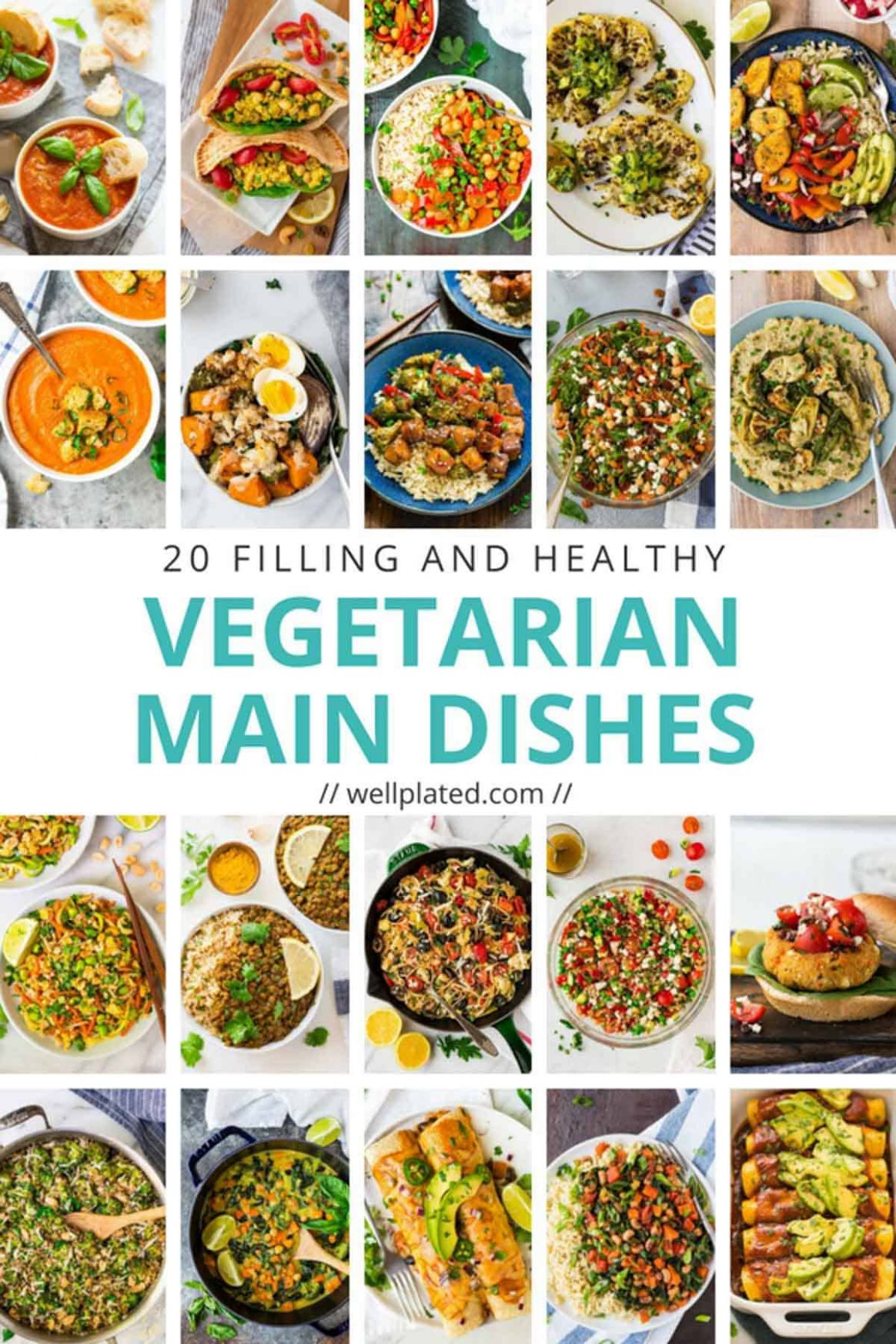 9 Healthy Vegetarian Dinner Recipes