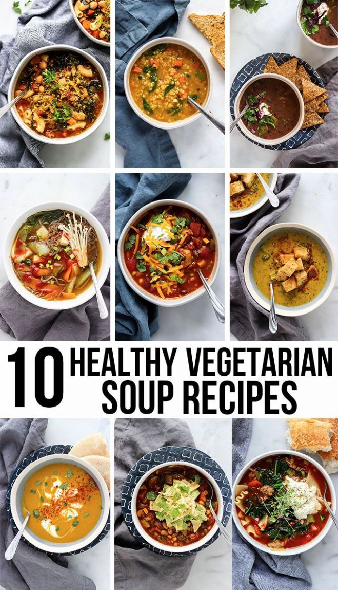 9 Healthy Vegetarian Soup Recipes | Healthy soup vegetarian ...