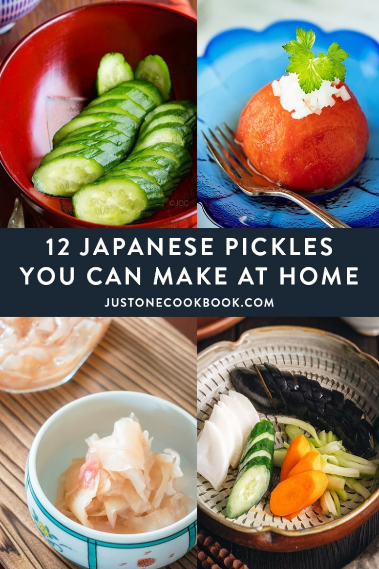 9 Japanese Pickles You Can Make At Home | Japanese vegetables ..