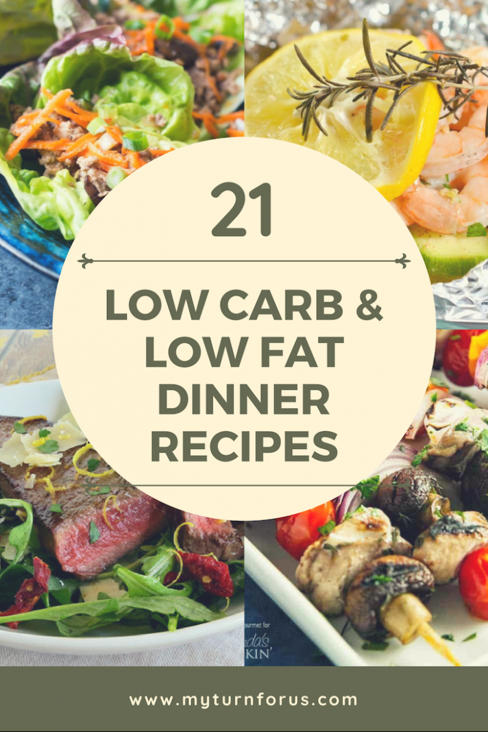 9 Low Fat Recipes and Low Carb Recipes - My Turn for Us - Simple Recipes Low Calorie