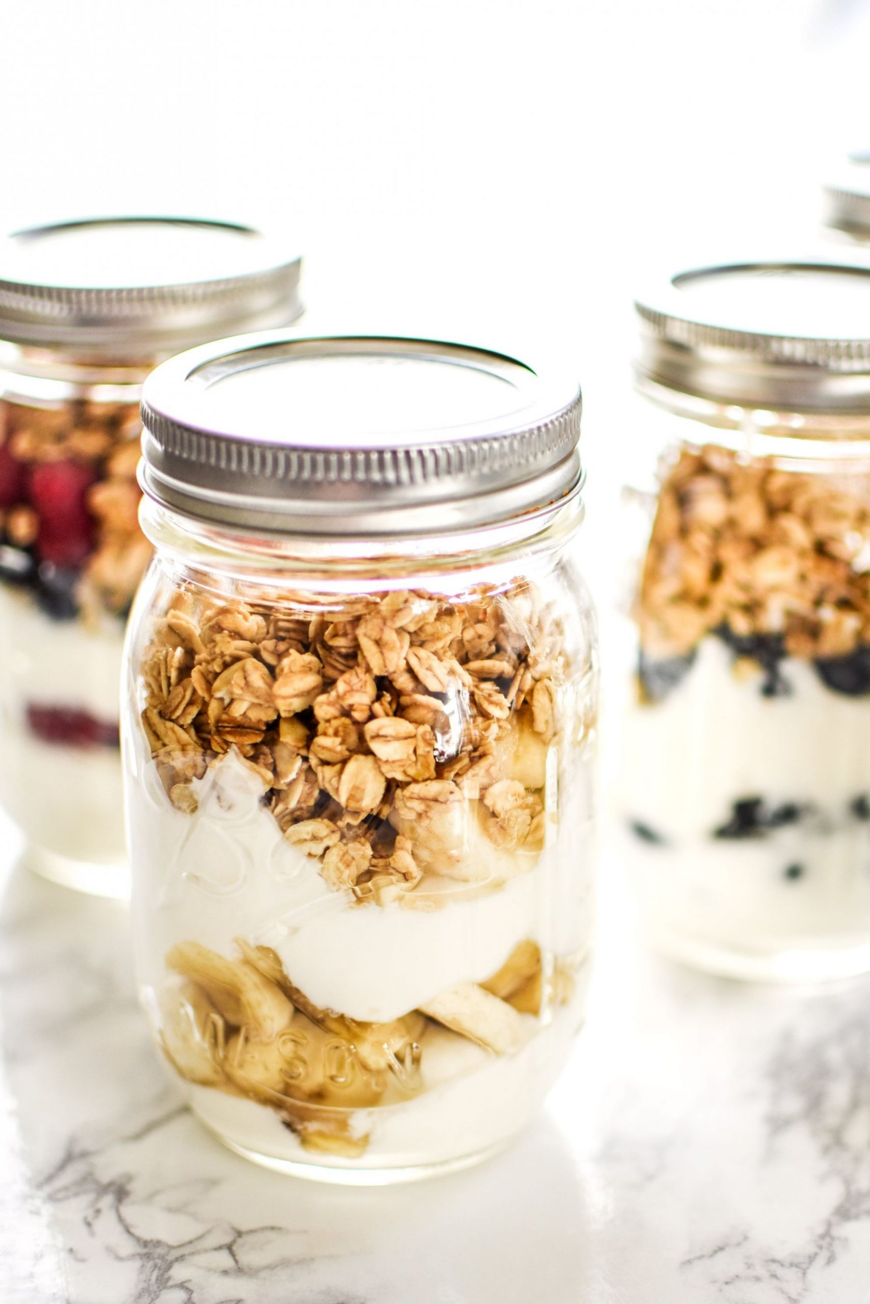 9 Make-Ahead Fruit & Greek Yogurt Parfait Ideas to Try for Breakfast - Breakfast Recipes Greek Yogurt