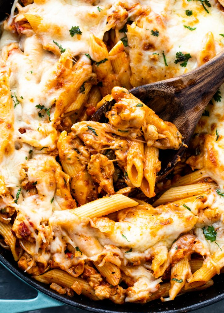 9 minute Chicken Pasta | Gimme Delicious
