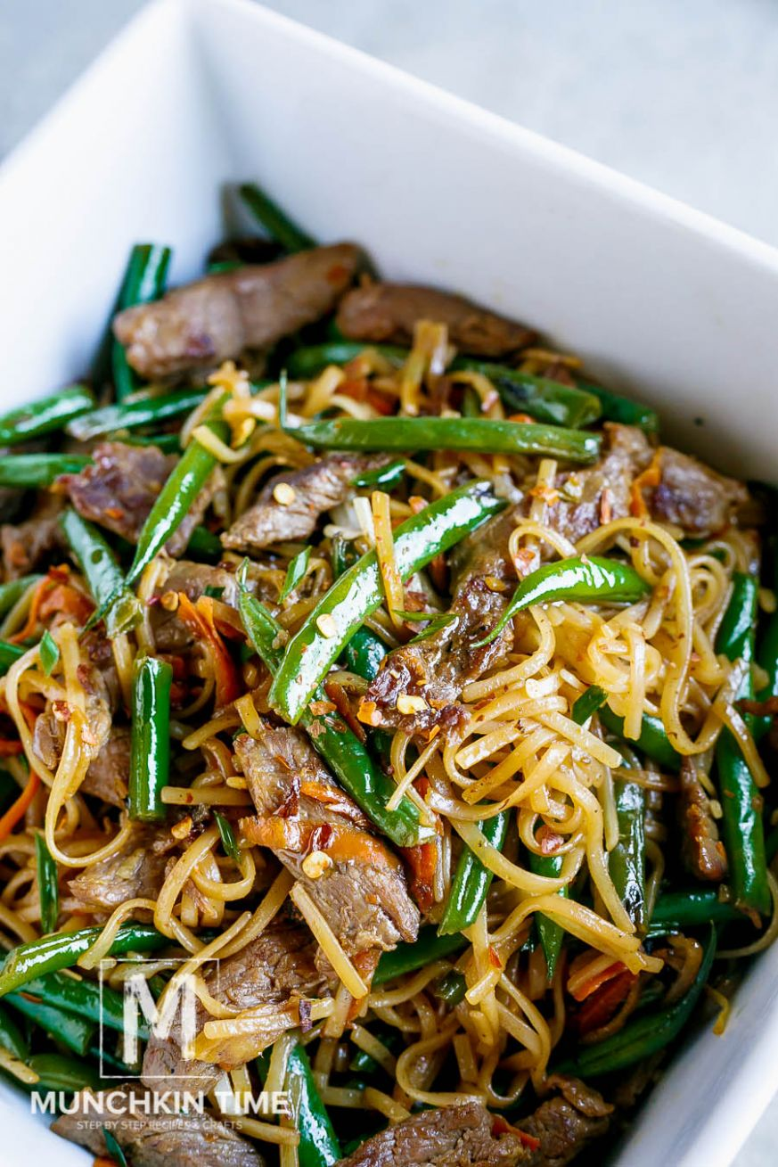 9 Minute Gluten-Free Beef Lo Mein Recipe (Video Inside)