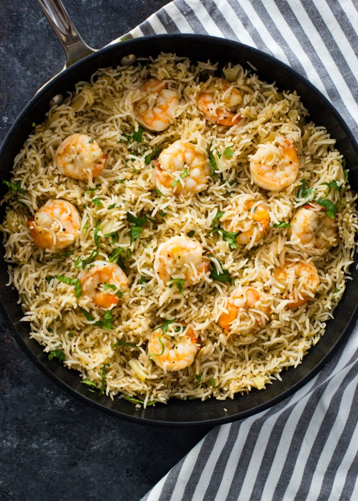 9 Minute One Pan Shrimp and Rice | Gimme Delicious - Recipes Rice Shrimp