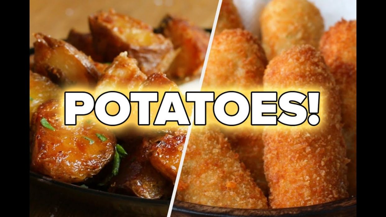9 Mouthwatering Recipes For Potato Lovers • Tasty