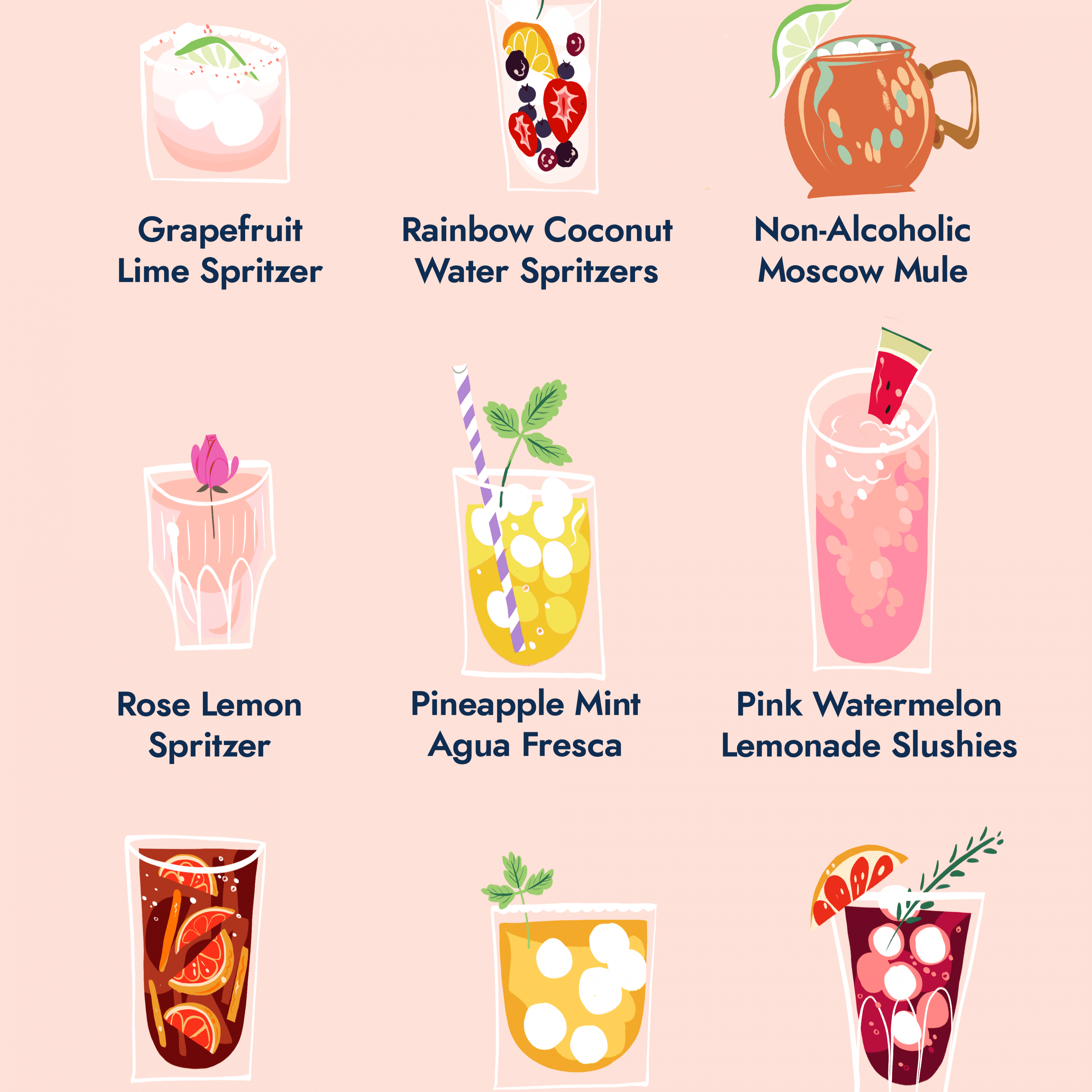 9 Non-Alcoholic Summer Drinks to Help Everyone Take It Easy - Summer Recipes Drinks Non Alcoholic