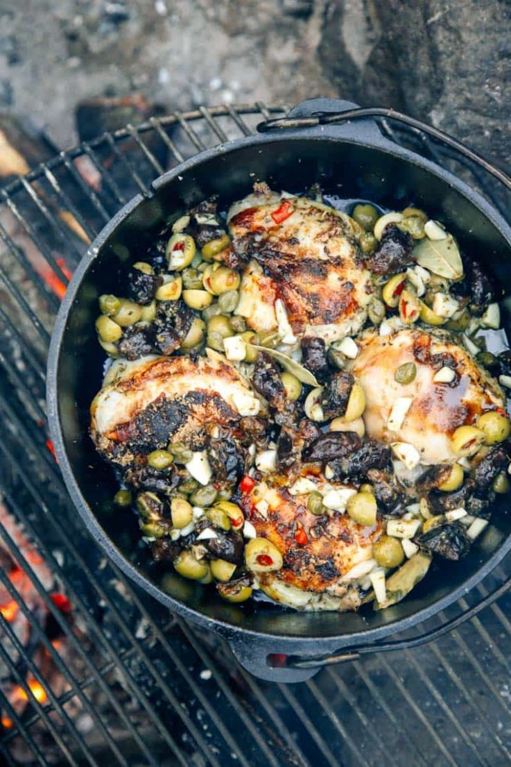 9 One Pot Camping Meals   Fresh Off the Grid - Recipes Cooking Outside