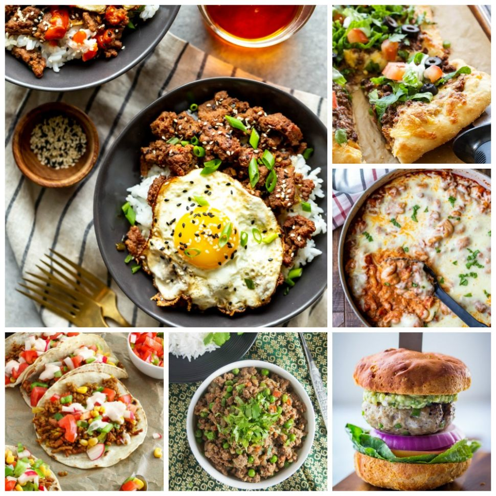 9 Quick & Easy Ground Beef Recipes - Fox and Briar - Beef Recipes Quick And Easy