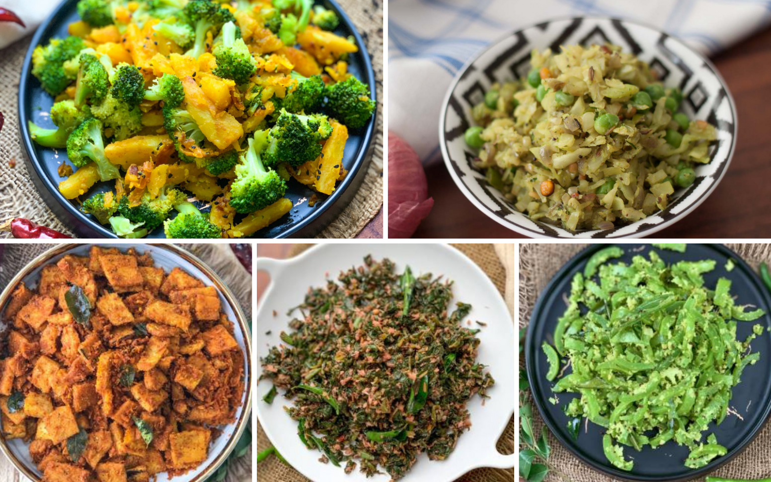 9 Quick & Easy South Indian Dry Vegetable Recipes Under 9 ...