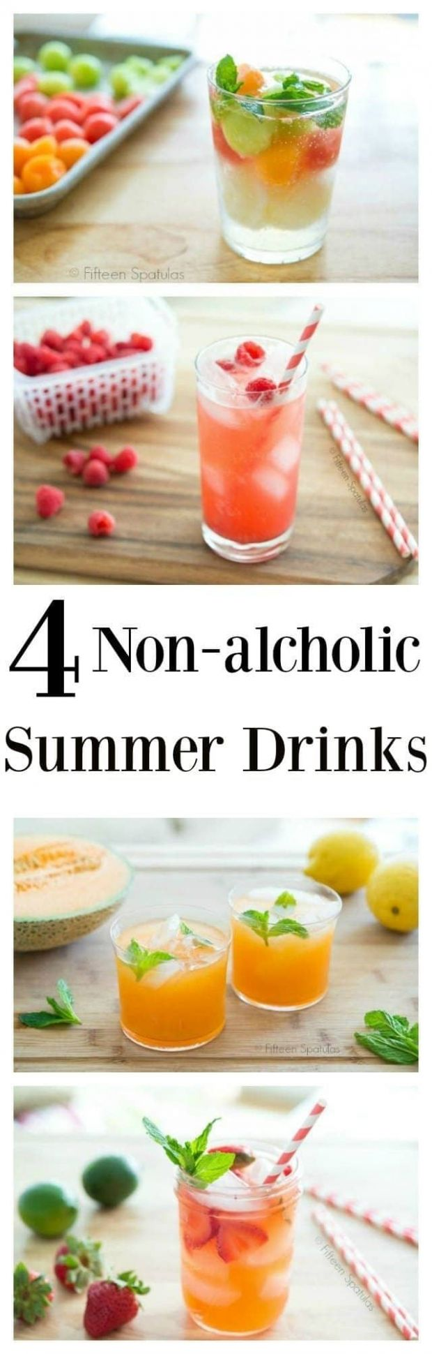 9 Refreshing Summer Drinks - All Non Alcoholic and Easy to Make!