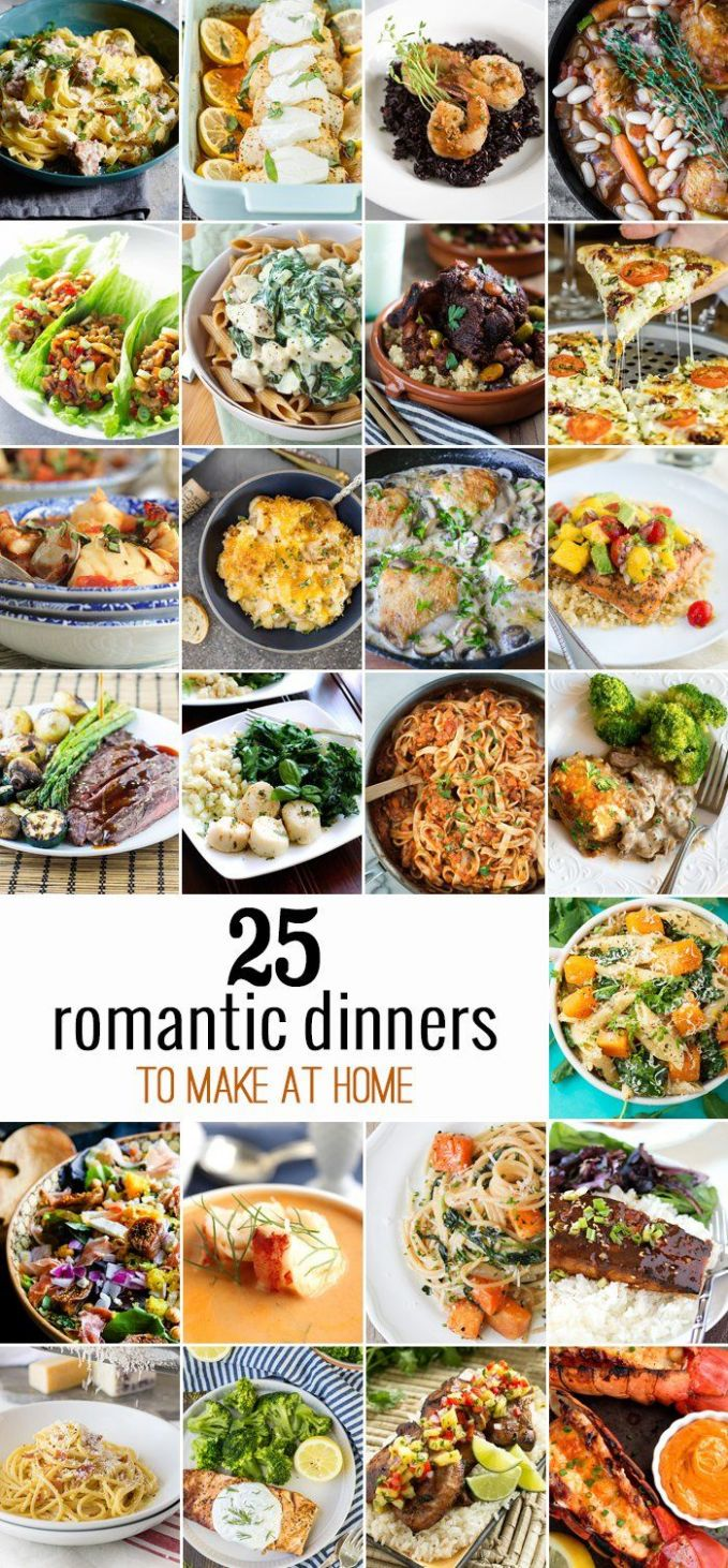 9 Romantic Dinners to Make at Home | Night dinner recipes ...