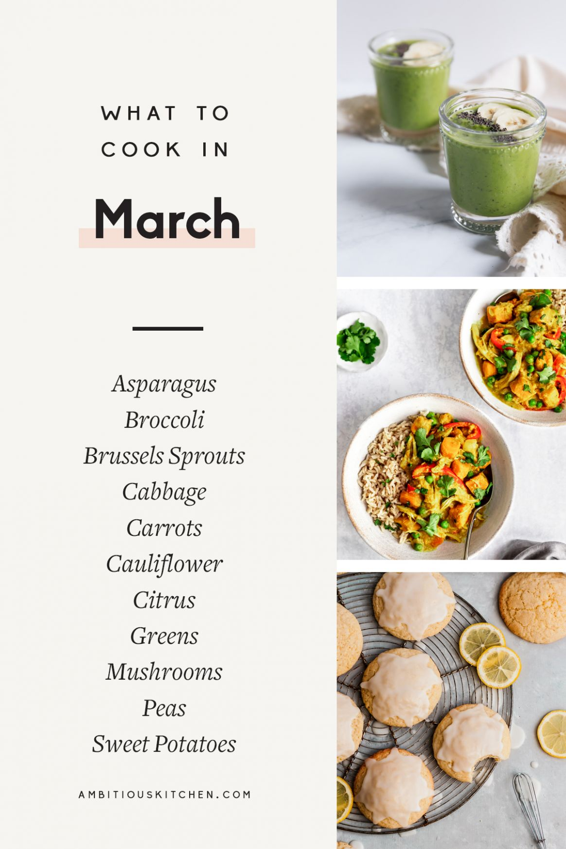 9 Seasonal, Healthy Recipes to Cook in March | Ambitious Kitchen