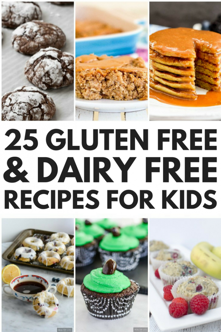 9 Simple Gluten Free and Dairy Free Recipes for Kids - Simple Recipes Gluten Free