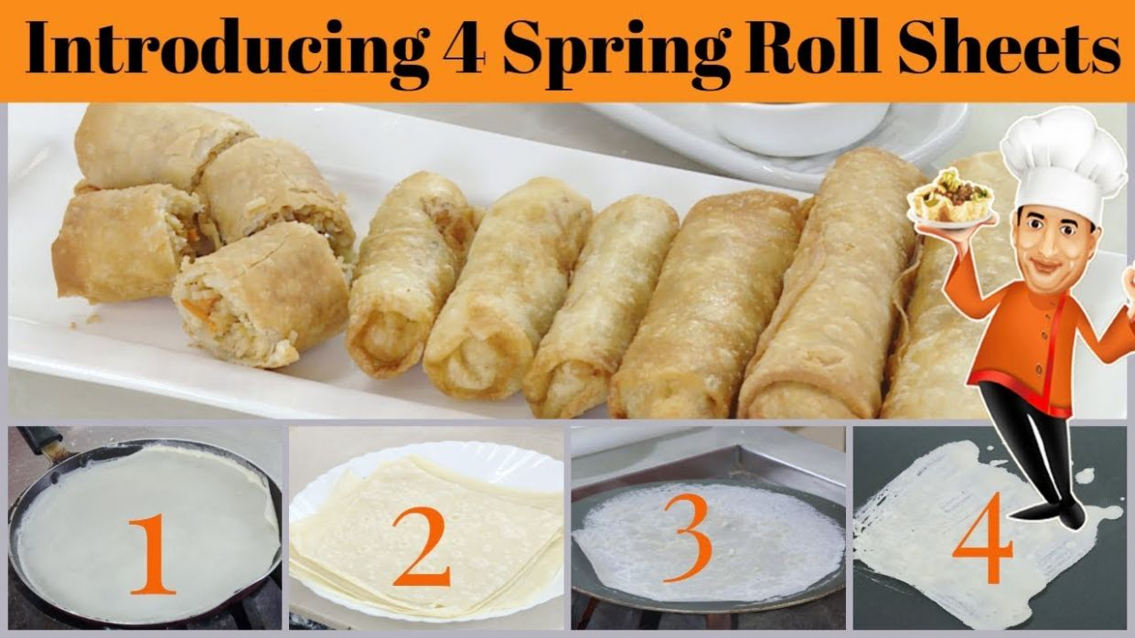9 Spring Roll Sheets recipes - Homemade Spring Roll Wrappers, Veg or NonVeg  Recipe Indo Chinese - Dessert Recipes Using Spring Roll Wrappers