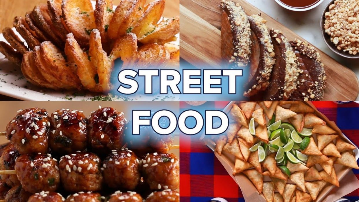 9 Street Food Recipes You Can Make At Home • Tasty - Food Recipes At Home