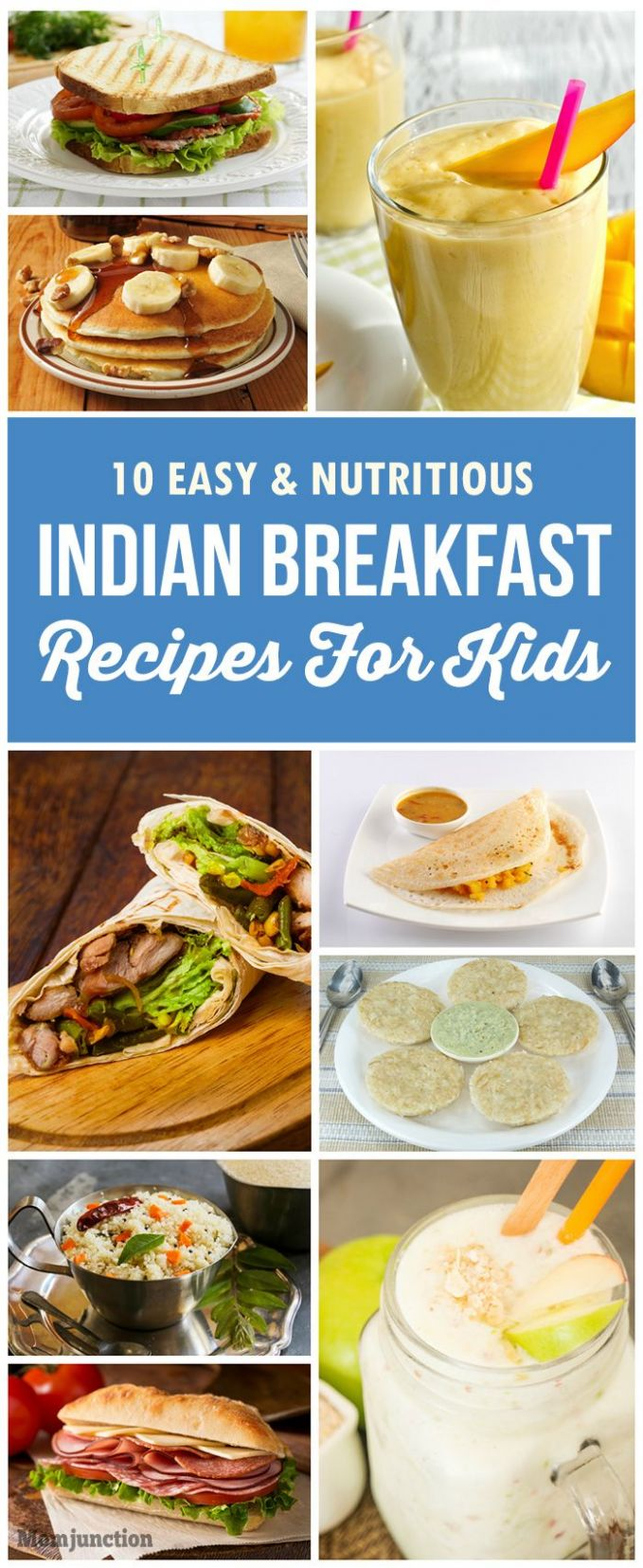 9 Tasty And Healthy Indian Breakfast Recipes For Kids | Indian ..