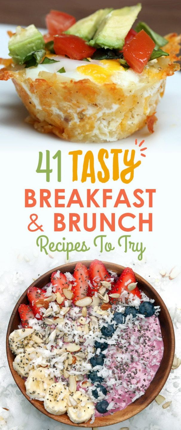 9 Tasty Breakfast & Brunch Recipes To Save For Later - Breakfast Recipes Yummy