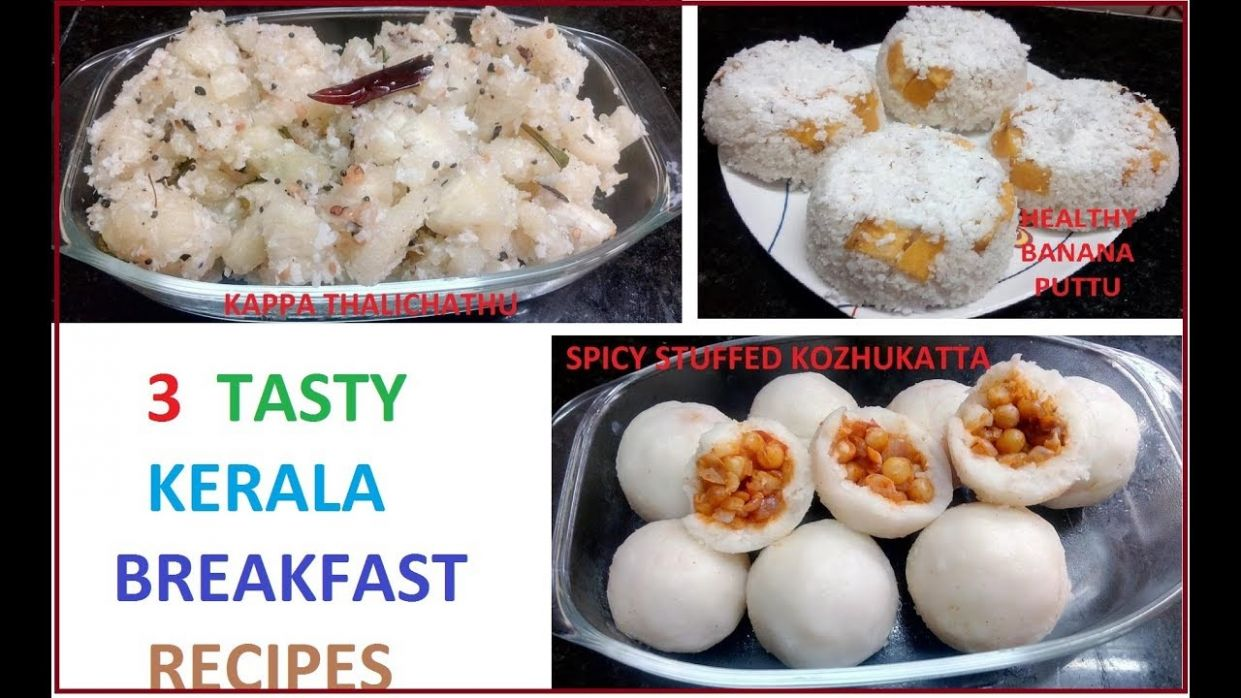9 tasty kerala breakfast recipes (Malayalam)