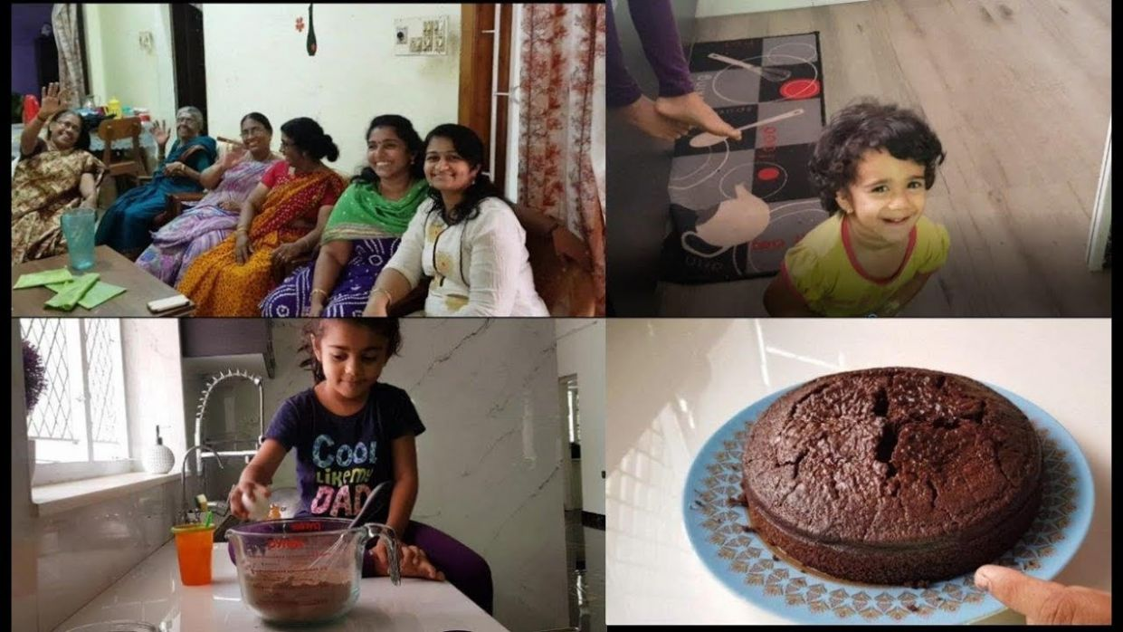 A Day in Mom's House with Family - Moist Chocolate Snack Cake Recipe -  YUMMY TUMMY VLOG
