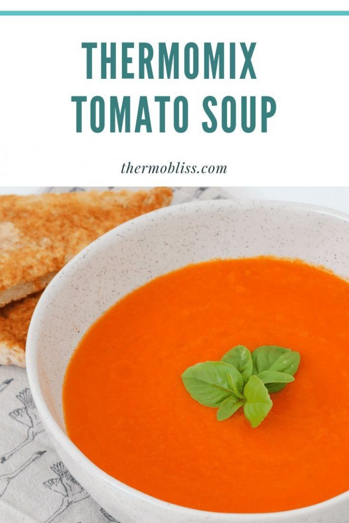 A deliciously healthy rmomix Tomato Soup recipe based on the ..
