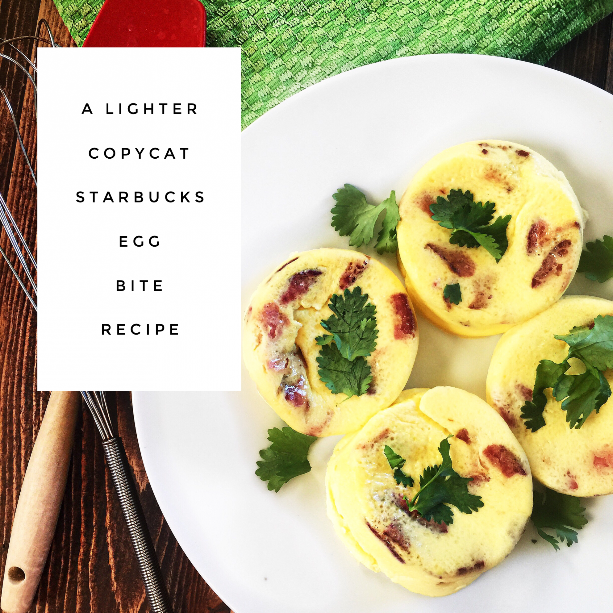 A Lighter Copycat Starbuck Egg Bites Recipe - Recipes Egg Bites
