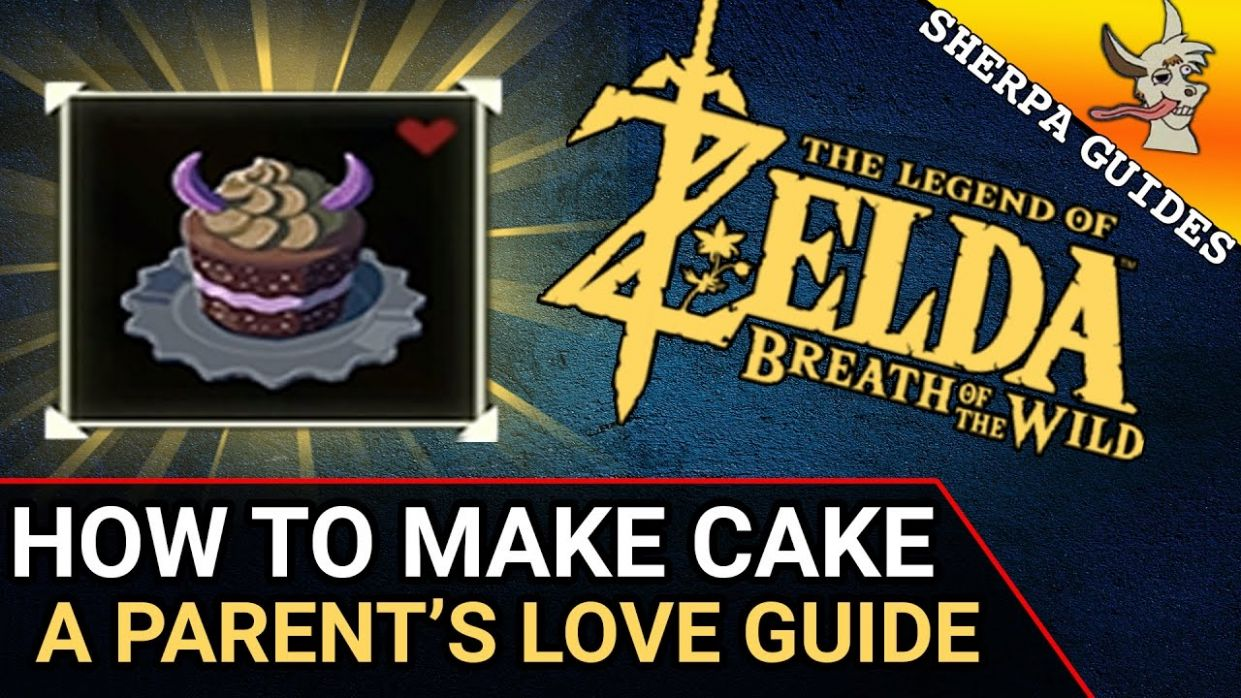 A Parent's Love Quest Guide | How to Make a Cake in Zelda BoTW | Tarry Town  Quests