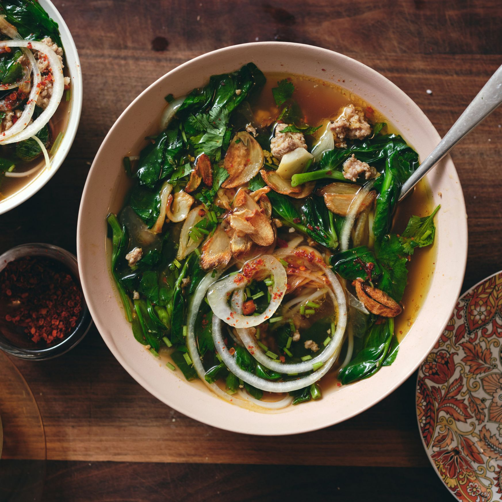 A Pork Noodle Soup Pulled From Your Pantry - The New York Times