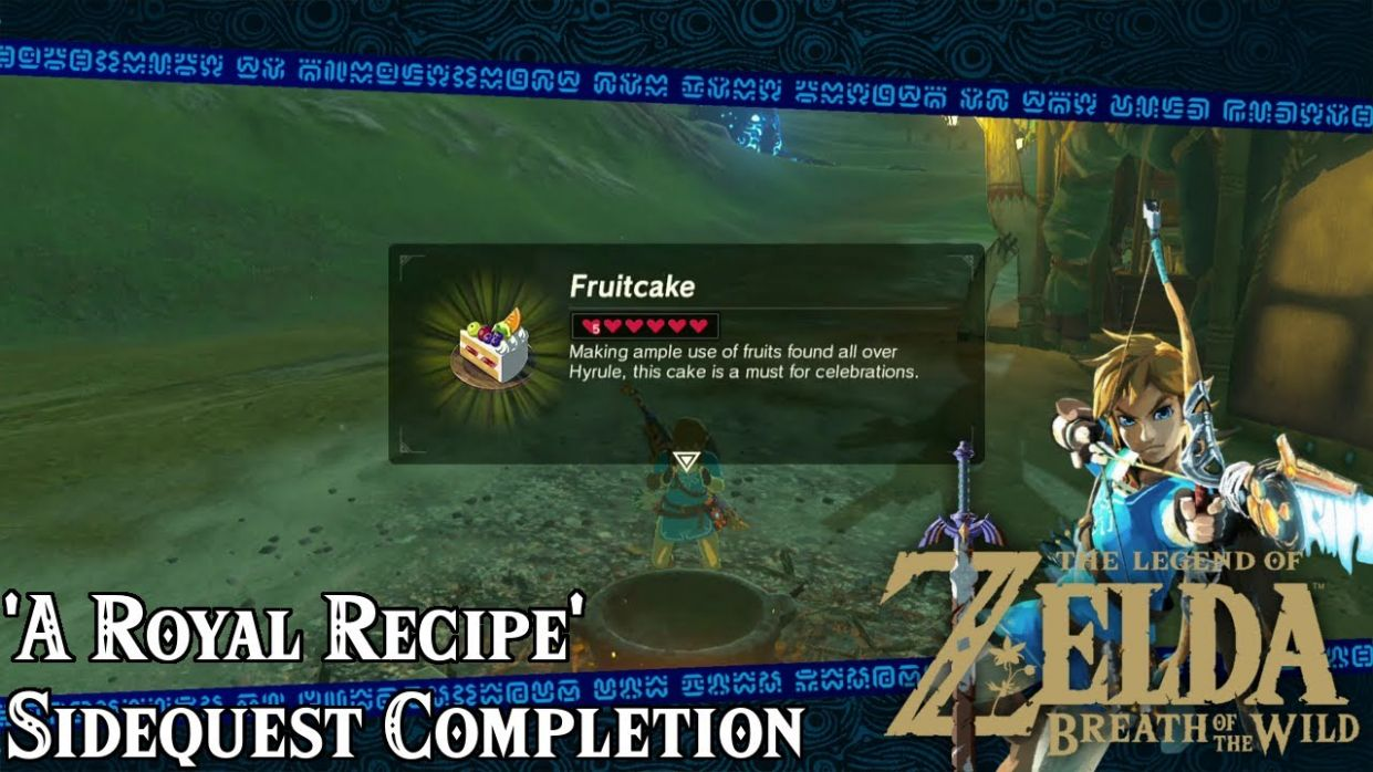 'A Royal Recipe' Sidequest Guide! - The Legend of Zelda: Breath of the Wild  - Tips and Tricks