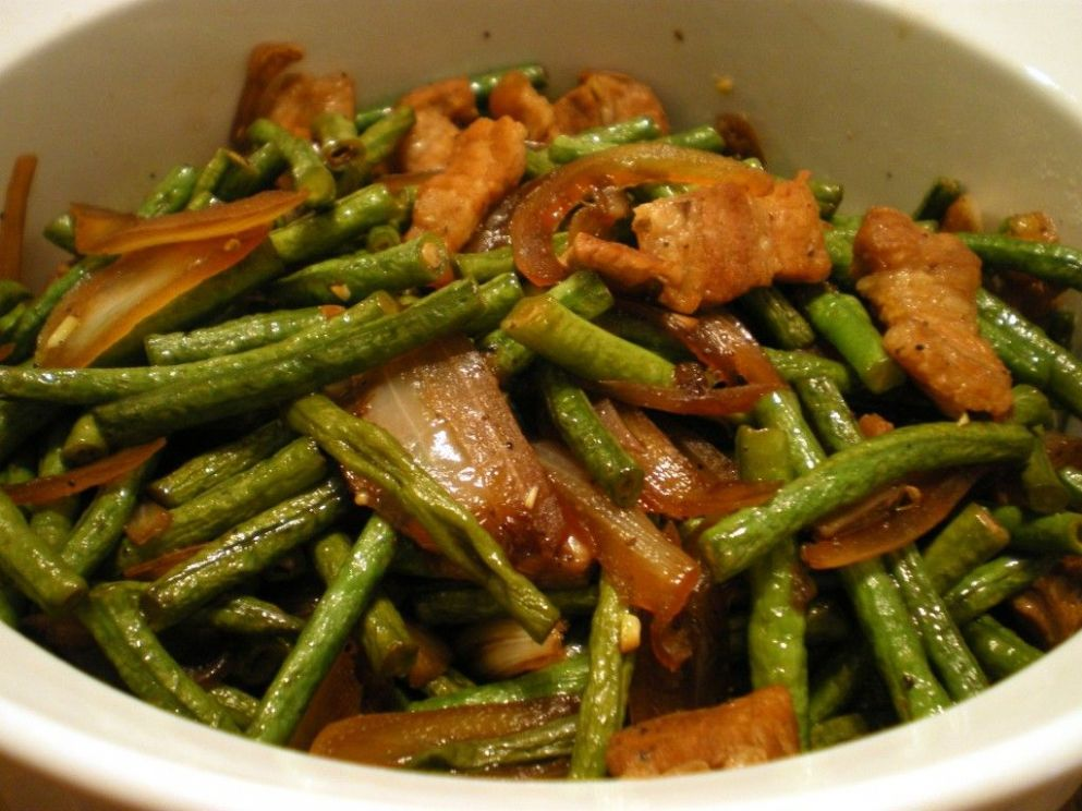 Adobong Sitaw - Vegetable Recipes Easy Pinoy