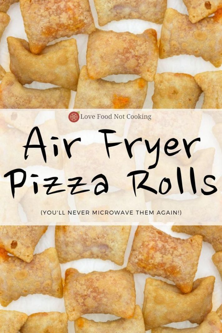 Air Fryer Pizza Rolls (Totino's)