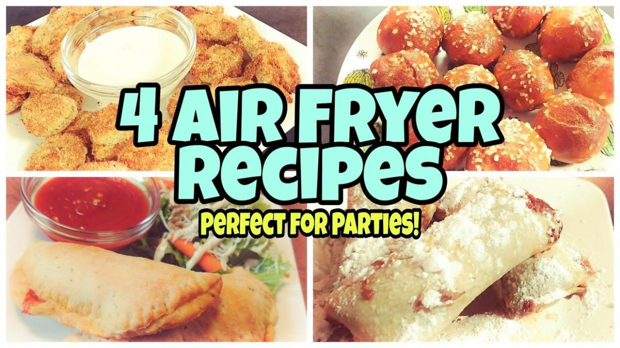 Air Fryer Recipes | Cook With Me | 11 Easy Recipes - YouTube in ..
