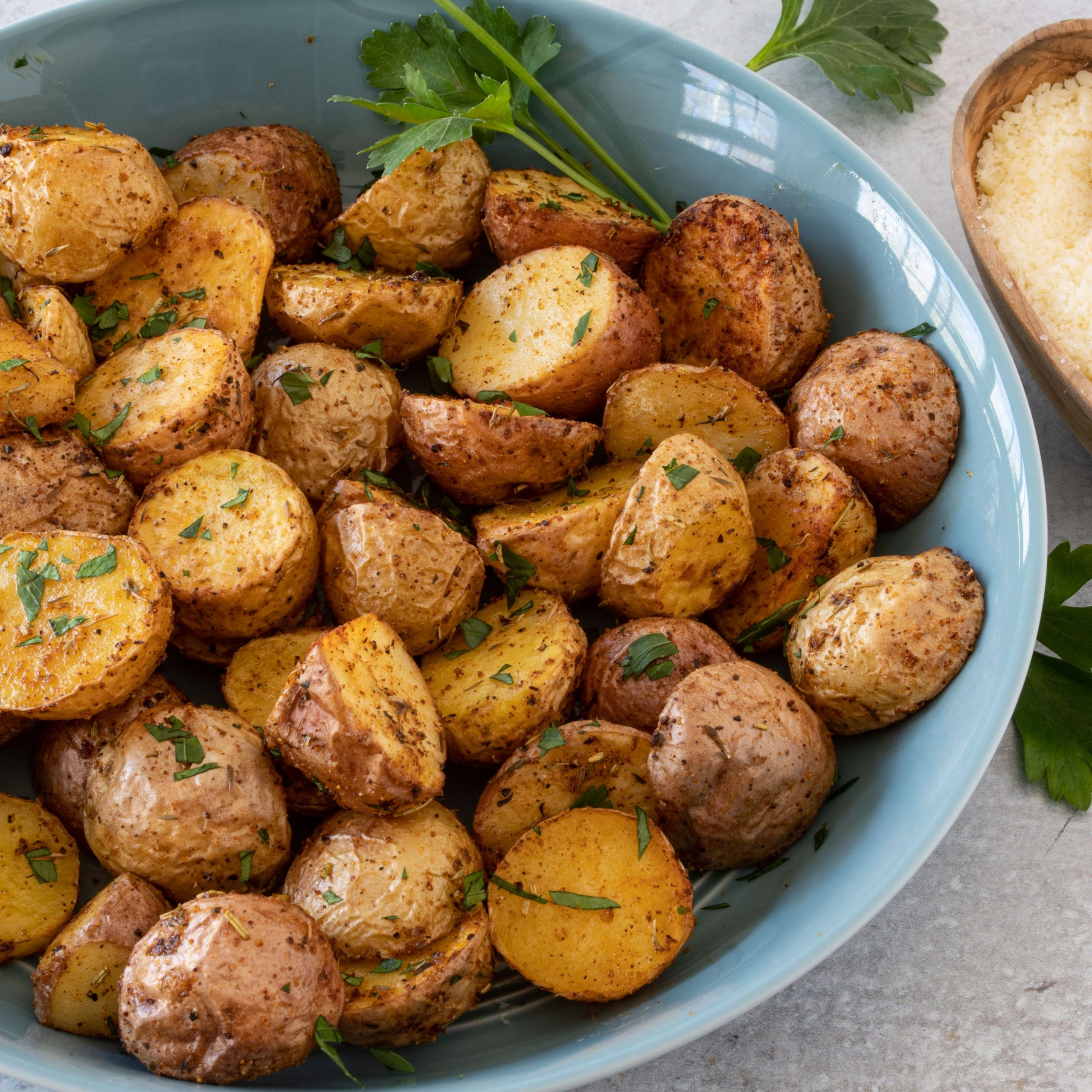 Air Fryer Roasted Potatoes - Potato Recipes Air Fryer