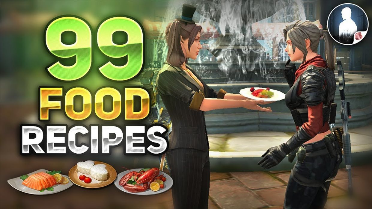 ALL 8 COOKING FOOD RECIPES LIST! - LifeAfter