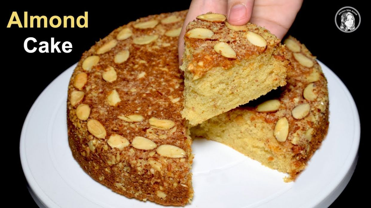 Almond Cake Recipe Without Oven - Dry Almond Cake - Tea Time Recipe by  kitchen With Amna - Cake Recipes Urdu Without Oven
