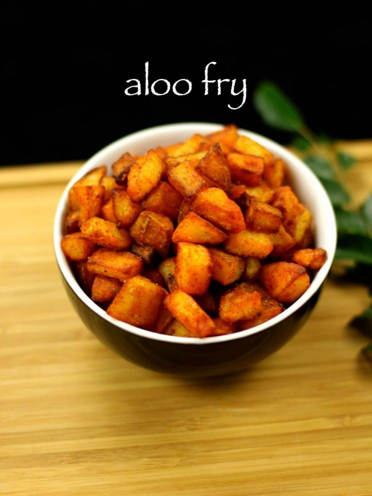 aloo fry recipe | potato fry recipe | fried potato recipe - Potato Recipes Video
