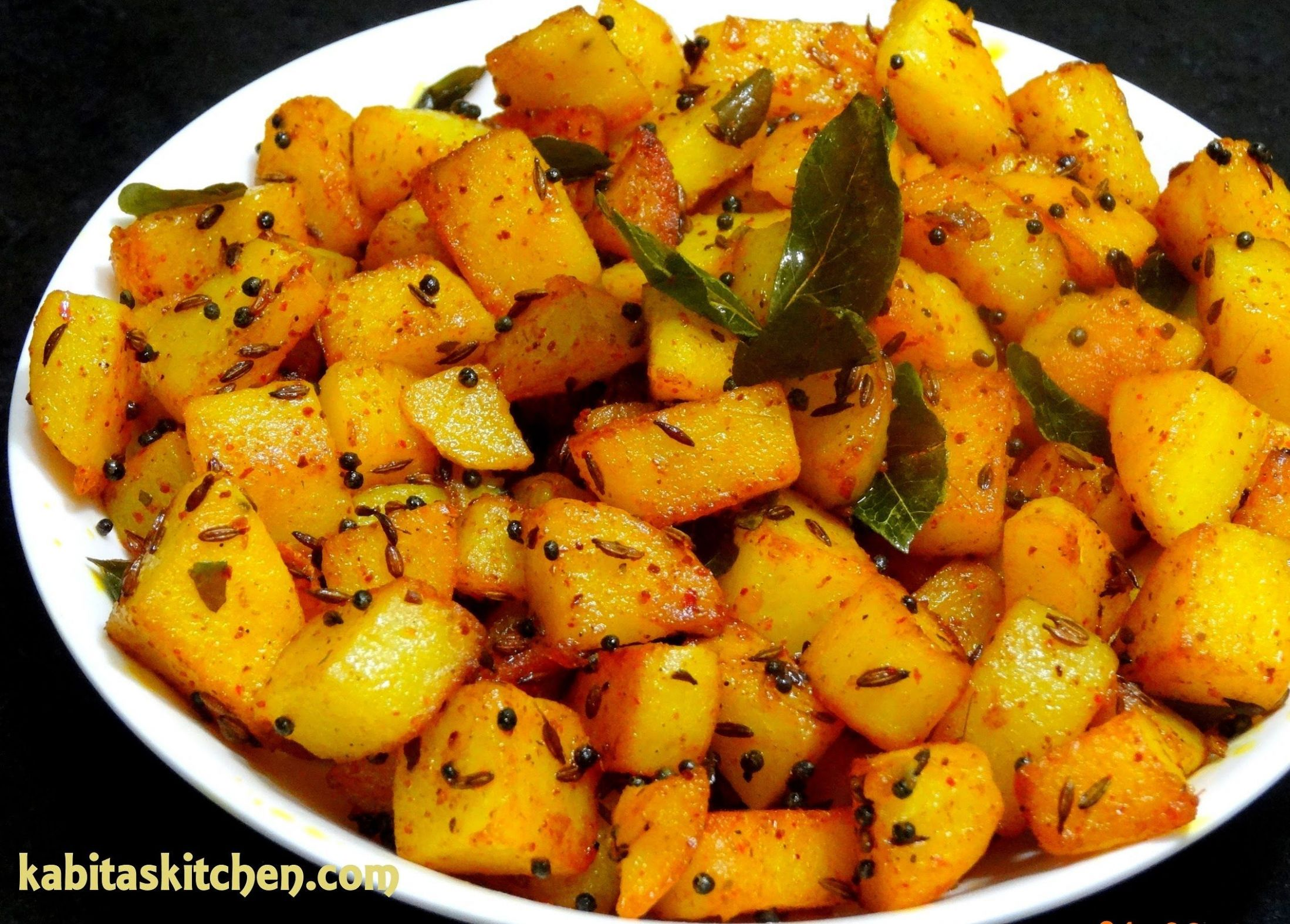 Aloo Fry Recipe-Simple Potato Fry for Lunch box-Easy and Quick ..
