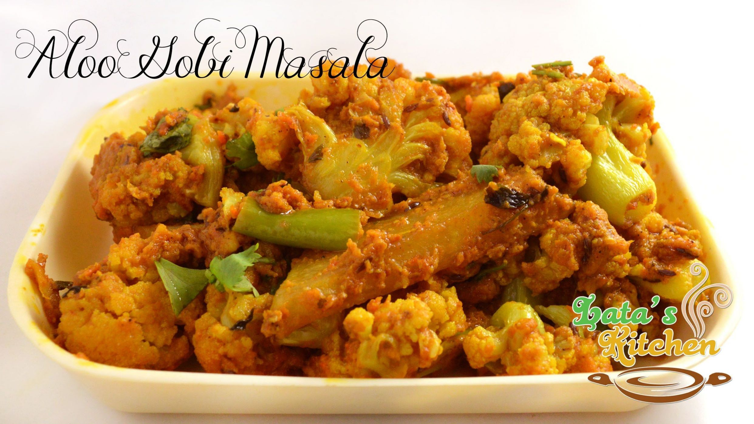 Aloo Gobi Masala Recipe Restaurant Style — Indian Vegetarian ..