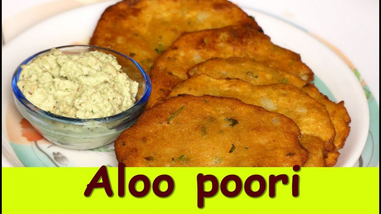 aloo puri recipe in kannada|Potato Poori| aloo poori recipe in kannada|  Breakfast Recipe - Potato Recipes In Kannada