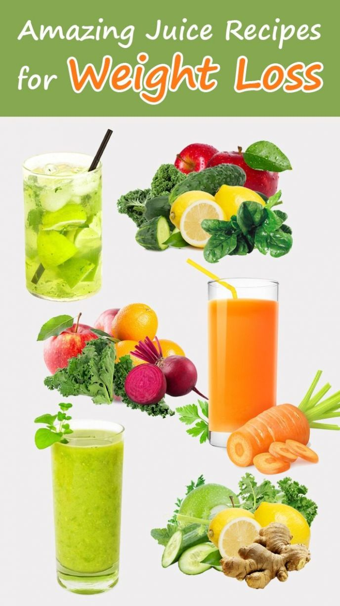 Amazing Juice Recipes for Weight Loss - Recommended Tips - Healthy Recipes Juicer Weight Loss