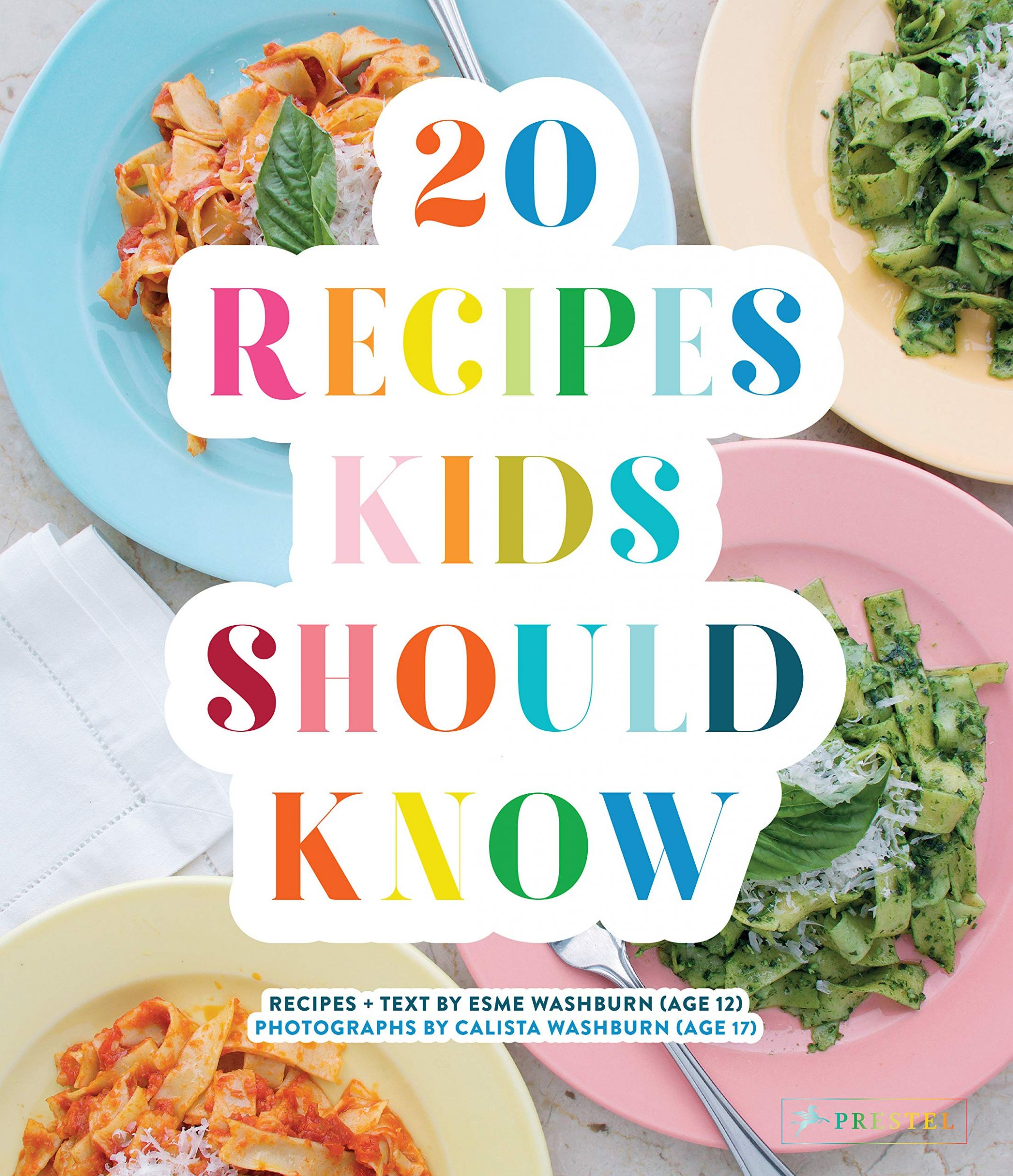 Amazon.com: 9 Recipes Kids Should Know (9): Esme ...