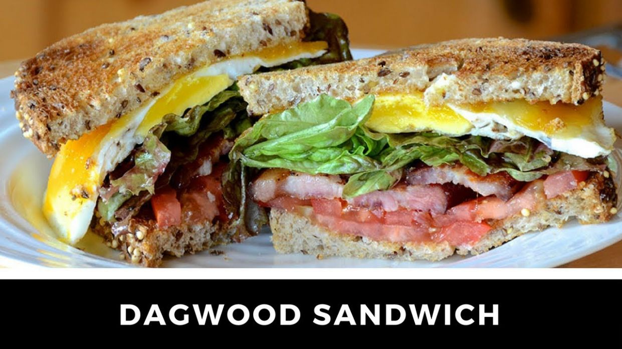 American Classic - The DAGWOOD SANDWICH recipe! - Sandwich Recipes American