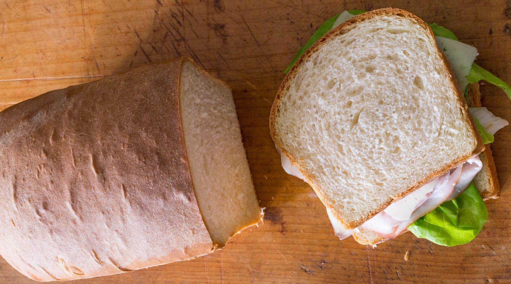 American Sandwich Bread - All Recipes Sandwich Loaf