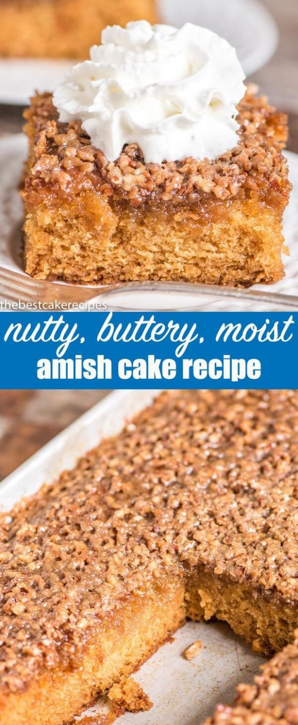 An easy, 11-bowl, 11x111 cake with that is extra moist. This Amish ...