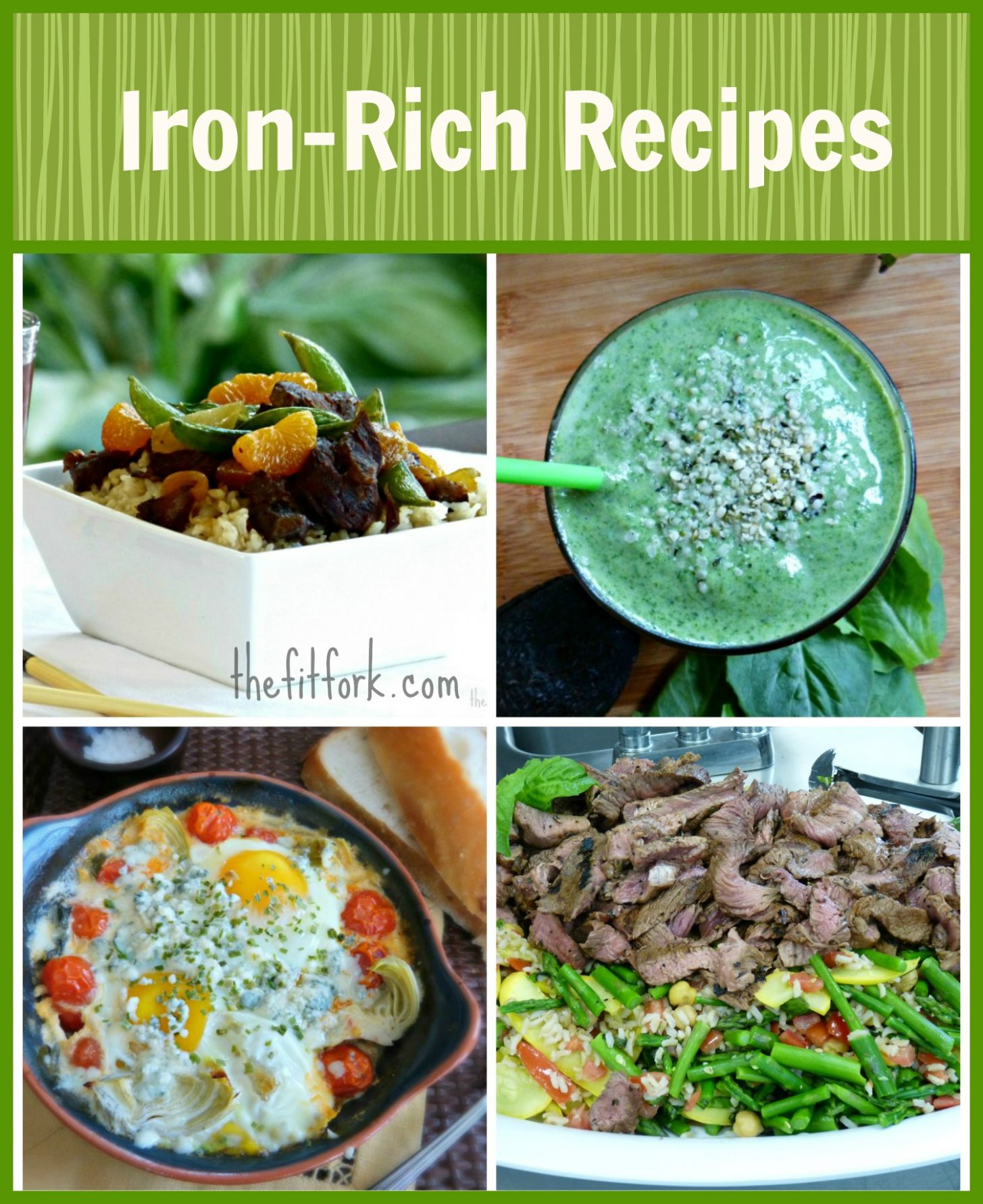 Anemia in Runners & Healthy Iron Rich Recipes | thefitfork