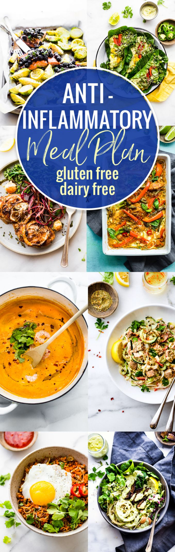 Anti-Inflammatory Meal Plan of Dairy-Free and Gluten-Free Recipes - Breakfast Recipes Gluten And Dairy Free