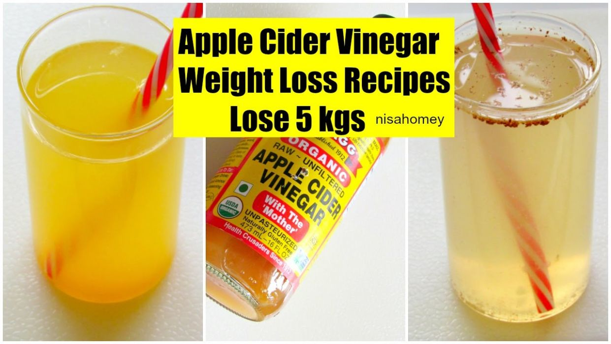 Apple Cider Vinegar For Weight Loss - Lose 8 kgs - Fat Cutter Morning  Routine Drink Recipe