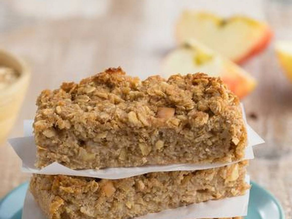 Apple-Cinnamon Cake Bars - Cake Recipes Using Xylitol